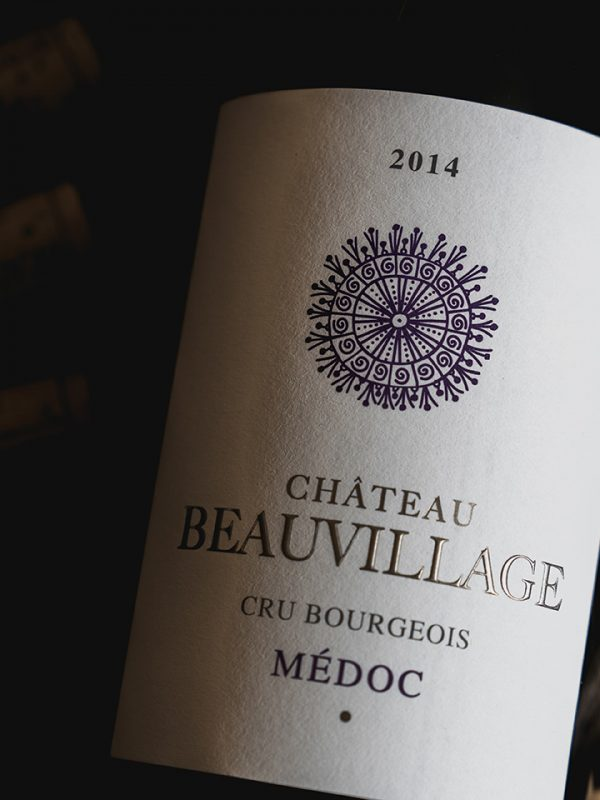 millesime; chateau; beauvillage; 2014; cru; bourgeois; medoc; acheter; boutique; ligne; vinopixo; constant; forme; becherat; photographe
