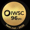 Médaille d'or 2020 IWSC